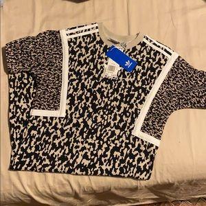 NWT Adidas Leoflage Camouflage Leopard Dress